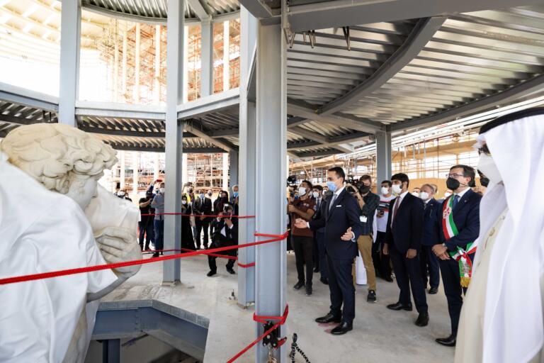 presentazione del Padiglione Italia a Expo 2020