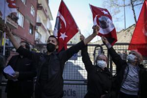 Turchia, protesta contro presidente Biden per il riconoscimento del genocidio armeno
