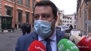 Salvini su Speranza