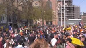 Olanda, manifestazione