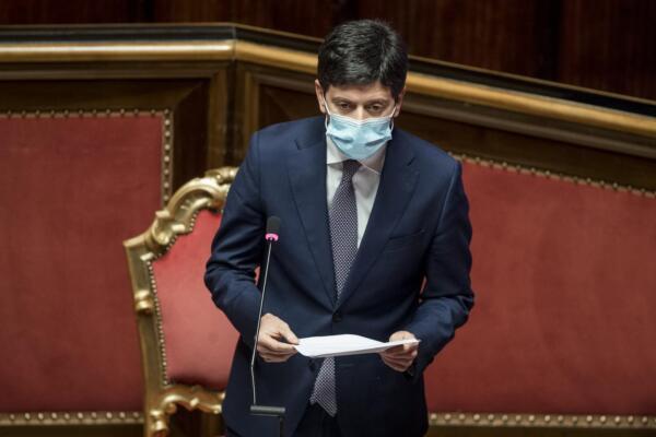 Senato - Comunicazioni del ministro Speranza sulle misure anti Covid-19