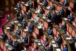 Senato - Comunicazioni del Presidente del Consiglio Mario Draghi sul Recovery plan