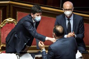 Senato - Mozione di sfiducia nei confronti del ministro della Salute Roberto Speranza