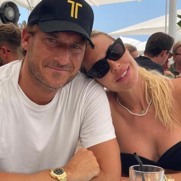 Ilary Blasi e Francesco Totti da Instagram