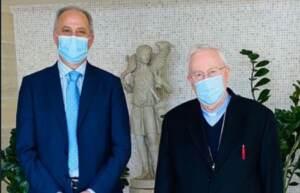 ambasciatore in Italia incontra il presidente della Cei