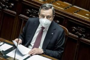 Camera dei Deputati - Comunicazioni del Presidente del Consiglio Mario Draghi sul Recovery plan