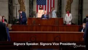 Biden saluta Signora vice presidente
