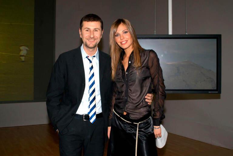 Fabio Fazio con Ilary Blasi