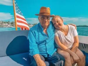 Martin Scorsese con la figlia Francesca