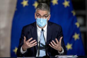 Palazzo Chigi - Presentazione del nuovo Dpcm su misure contro emergenza Covid-19