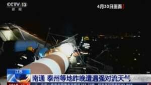 tempeste nella Cina orientale, almeno 11 morti