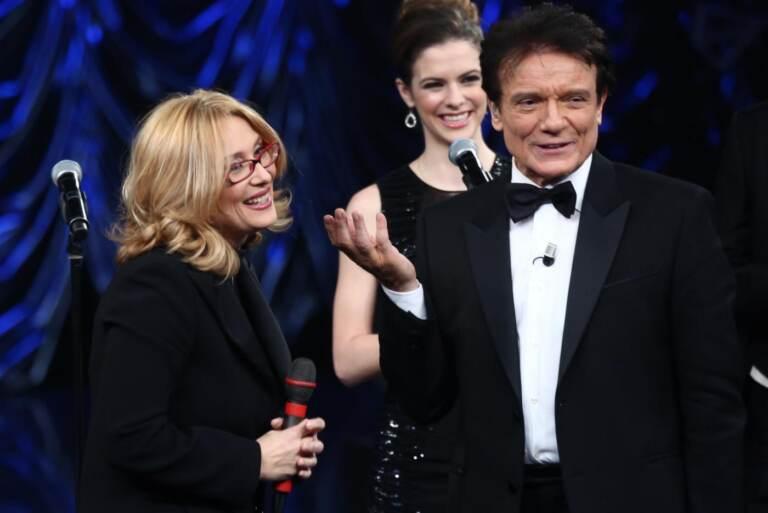 Massimo Ranieri con Nicoletta Mantovani