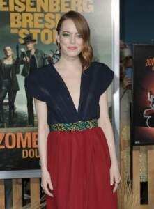 """Emma Stone alla premiere di """"Zombieland : Double Tap"""" a Los Angeles"""