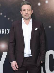 Ben Affleck. Arrivi alla premiere di The Way Back a Los Angeles