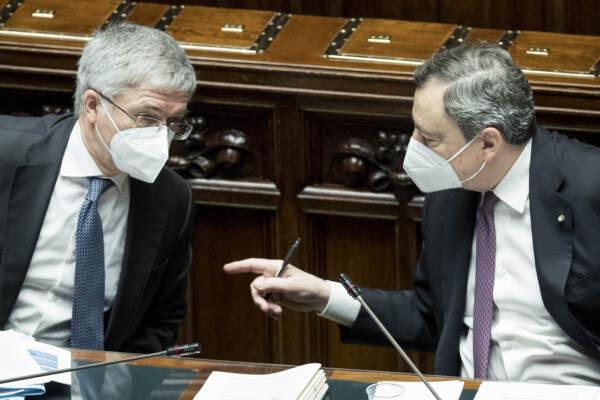 Draghi, dl sostegni