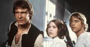 Star Wars - Han Solo, la Principessa Leila e Luke Skywalker