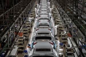 La fabbrica della Honda a Wuhan riprende la produzione