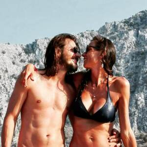 Mehmet Günsür con Katerina Mongio. Foto di Instagram