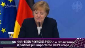 Ue, Merkel