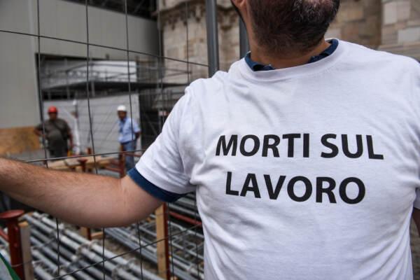 Presidio sindacati contro le morti sul lavoro