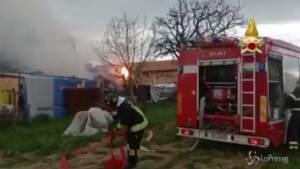 Esplosione in un capannone a Gubbio