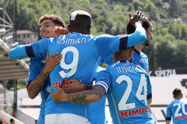 Serie A, Napoli travolgente con lo Spezia
