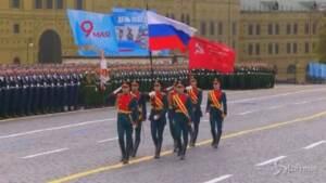 Russia, a Mosca la tradizionale parata del Giorno della Vittoria