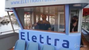 Elettra, la prima imbarcazione ibrida a energia solare in Italia per servizio passeggeri