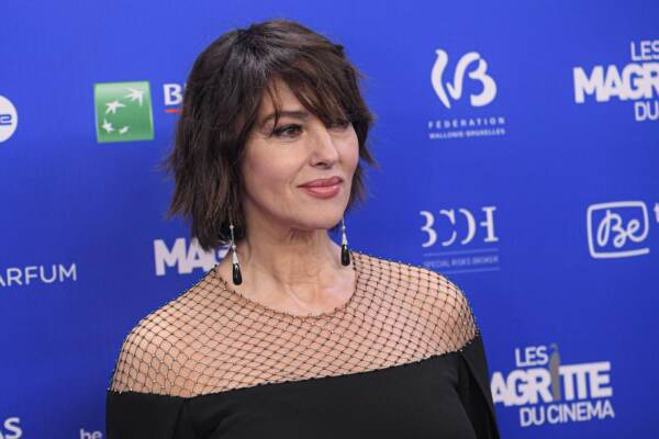 Monica Bellucci premiata ai Magritte awards a Bruxelles