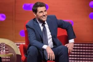 Tom Cruise al Graham Norton Show al BBC Studioworks 6