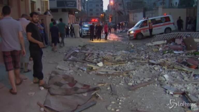 Gaza, la distruzione dopo i raid di Israele