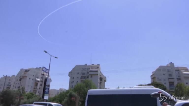 Israele, lanciate decine di razzi dalla Striscia di Gaza