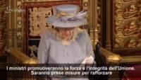 Westminster, il discorso della Regina Elisabetta