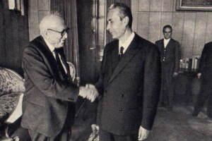 Aldo Moro e Pietro Nenni