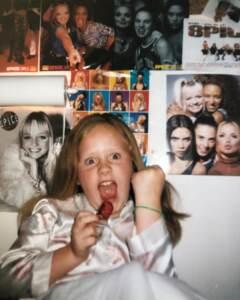 Adele a 12 anni - foto da Instagram
