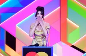 Dua Lipa ai Brit Awards 2021 a Londra