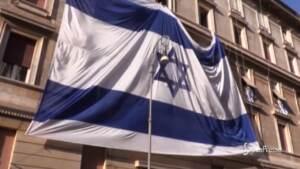 """A Roma veglia pro Israele, Dureghello: """"La situazione sta degenerando"""""""