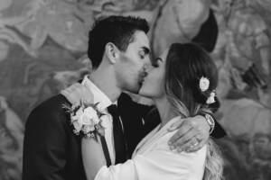 Giorgia Palmas e Filippo Magnini sposi - foto da Instagram