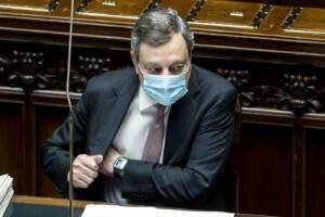 Draghi al question time