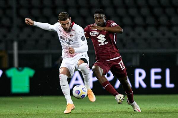 Torino FC vs AC Milan - Serie A TIM 2020-2021