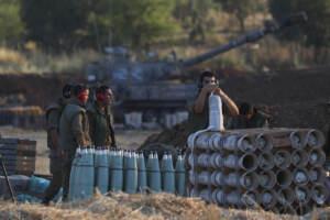 soldati confine gaza