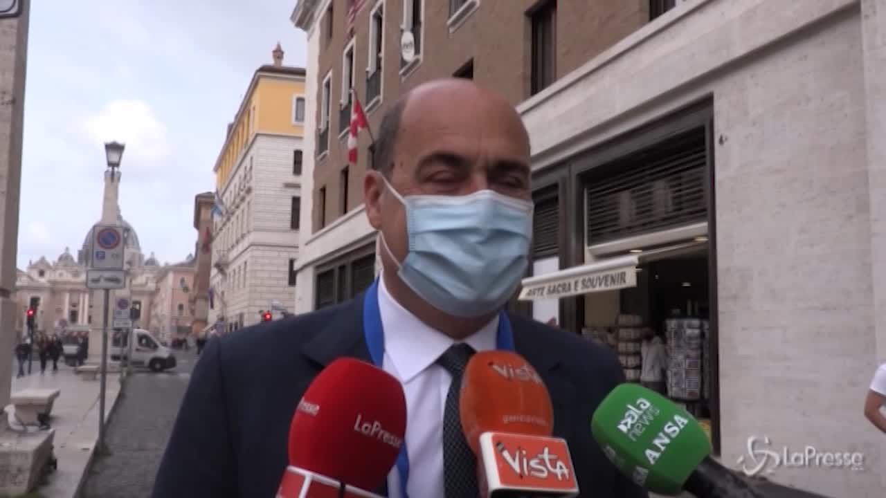 Nicola Zingaretti a Roma