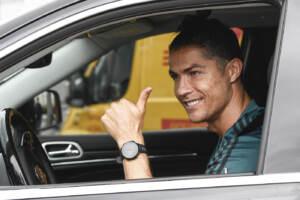 Juventus, Cristiano Ronaldo torna ad allenarsi alla Continassa
