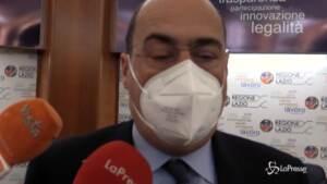 """Open Day Lazio, Zingaretti: """"Risultati dimostrano vaccinazione funziona"""""""