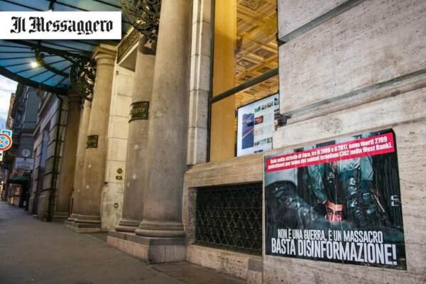 """Gruppi pro-Palestina contro media italiani: """"Narrazione distorta"""""""