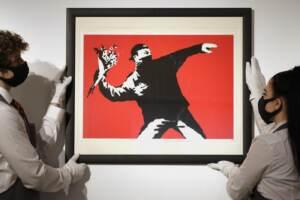 Banksy Love is in the air
