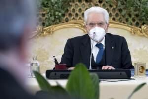 Mattarella partecipa alla Riunione del Consiglio Supremo di Difesa