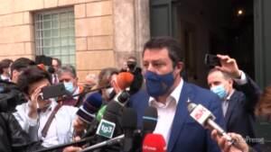 """Copasir, Salvini: """"Il presidente ha messo a disposizione il suo mandato"""""""