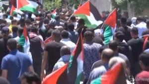Cisgiordania, i funerali del 15enne ucciso dalle forze israeliane