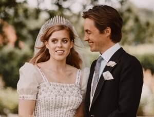 La principessa Beatrice e Edoardo Mapelli Mozzi da Instagram